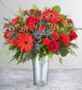 Celebration in Silver Bouquet