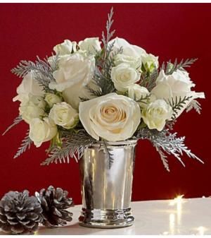 Silver Season™ Petite Bouquet Arrangement in Croton On Hudson, NY | Cooke's Little Shoppe Of Flowers