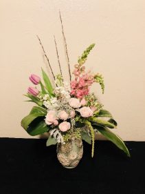 Silver Sensation Keepsake Arrangement