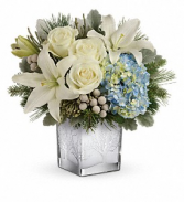 Silver Snow Winter Bouquet