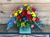 Simple Country Casket Spray
