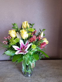 Simple elegance Fresh arrangement