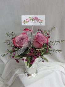 Simple Elegance Fresh Rose Arrangement