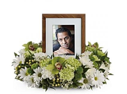 Simple elegance Memorial  Funeral memorial