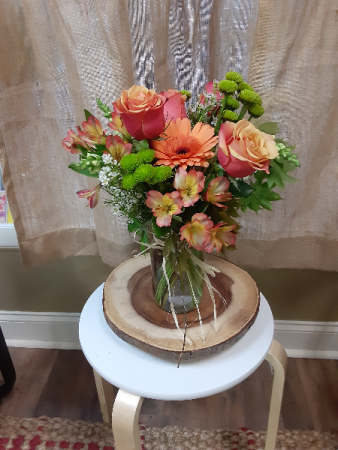 simple fall vase all occations
