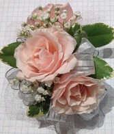 Simple Pink Corsage