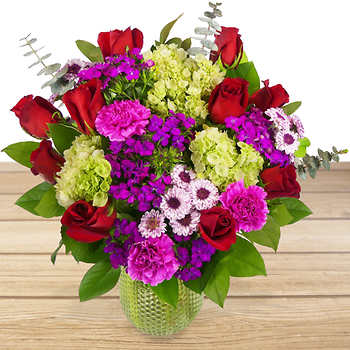 SIMPLE RADIANCE Vase arrangement