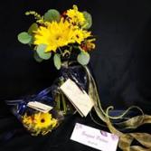 Simple Sunflower  Bridal Bouquet