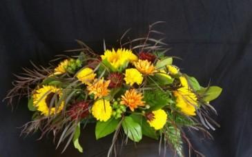 Simple Sunflower  Centerpiece