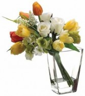 Simple Sunshine Bouquet-SILK BOTANICALS