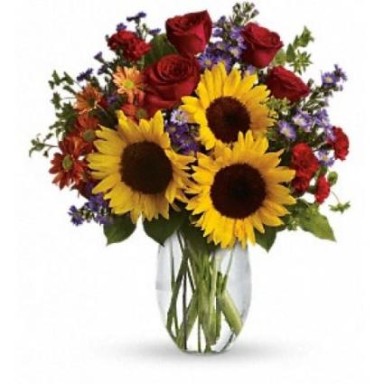 Simple Sunshine Floral Arrangement