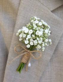 SIMPLE SWEETNESS Prom Boutonniere