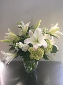 Simple Sympathies Vase Arrangement