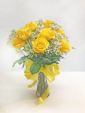 SIMPLE YELLOW ROSES ROSES