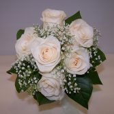 Simplicity in White Bouquet