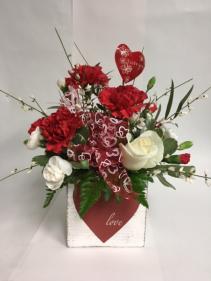 Simplistic Love Bouquet valentines