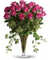 Pink Passion  18 Premium Blushing Roses