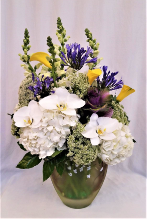 Simply Elegant Arrangement in Boca Raton, FL | FLOWERS OF BOCA