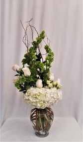 Simply Elegant Sympathy Arrangement