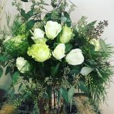 Simply Elegant Thoughts Floral Arrangement