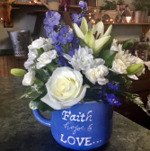 Simply Faith, Hope and Love oversized mug