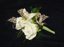 SIMPLY GOLDEN  BOUTONNIERE