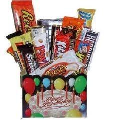 SIMPLY HAPPY BIRTHDAY Gift Basket