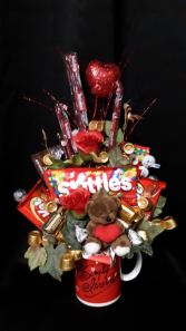 simply Irrestible candy bouquet