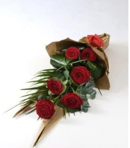 Simply Love Front Facing Hand Tie Bouquet