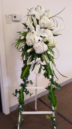 Simply Peaceful Arrangement in Lexington, NC | RAE'S NORTH POINT FLORIST INC.