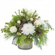 Simply Peaceful Fresh Flower Arrangement