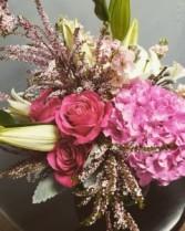Simply Pink Vase