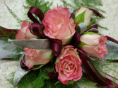 Simply Pink Wrist Corsage