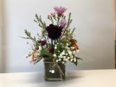 Simply Purple Funeral Flowers