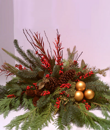 simply red  christmas