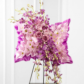 Simply Restful Flower Pillow Standing Spray