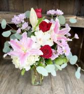 Simply Romantic Fresh Flowers