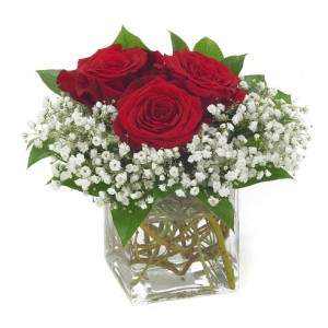 Simply Romantic Vase Arrangement