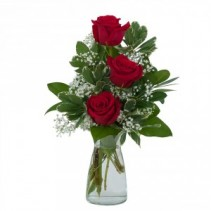 Simply Roses Fresh Flower Arrangement