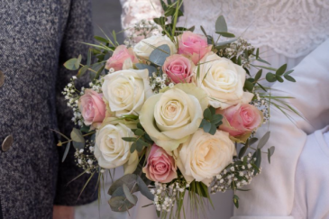 Simply Roses Bridal Bouquet