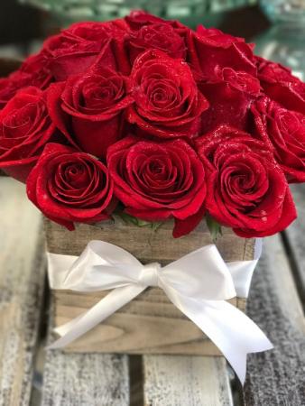 Simply Rustic Roses