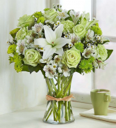 Simply Serene Floral Arrangement