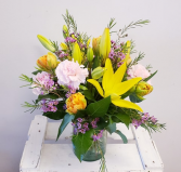 Simply Spring Flower Arrangment