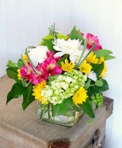 Simply Sublime Vase Arrangement