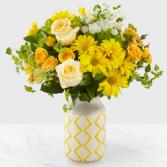 Simply Sunny Designer Vase Arrangement
