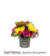 Simply Sweet Bud & Bloom Signature Arrangement