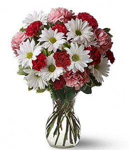 Simply Sweet Vased Arrangement in Indianapolis, IN | SHADELAND FLOWER SHOP