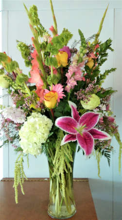 SIMPLY THE BEST MIXED FLORAL ARRANGEMENT