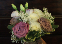 Simply Vintage Wedding Flowers