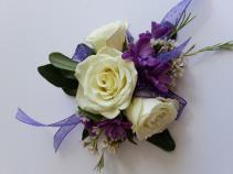 Simply Violet Corsage